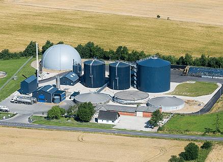 Thorsø miljø- og biogas anlæg